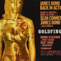 Preview. goldfinger (1964) poster | british, style a, robert brownjohn (1925-1970)