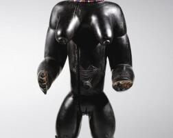 57. statue, dan / kran, liberia / côte d'ivoire