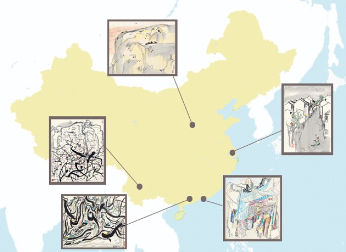 Touring China in the Footsteps of Wu Guanzhong