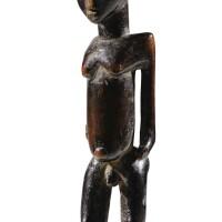 33. statue, lobi, burkina faso  