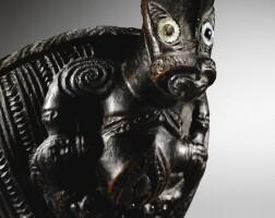 7. boîte à trésor, maori, nouvelle-zélande