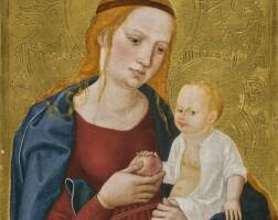 104. hans maler zu schwaz | the virgin and child