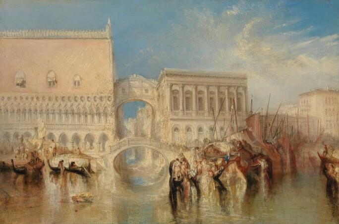 Joseph Mallord William Turner, Venice, the Bridge of Sighs
