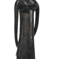 31. sherbro female figure, sierra leone