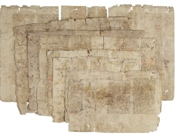 11. fragments of rolandino de' passaggeri, aurora [italy (bologna?), 14th century]
