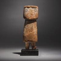 11. a hopi polychromed wood kachina figure, circa 1900 |