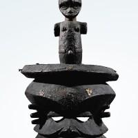 91. masque, eket, nigeria  