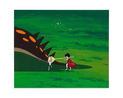 1016. 騎士公主 by 蟲製作公司   藍寶和恐龍動畫手稿