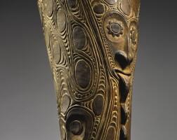 33. hand drum, eastern iatmul, middle sepik river, papua new guinea