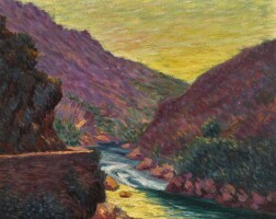 34. roderic o'conor   valley landscape near cassis