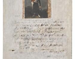 81. george deem (1932 - 2008)   composition (goya), 1962