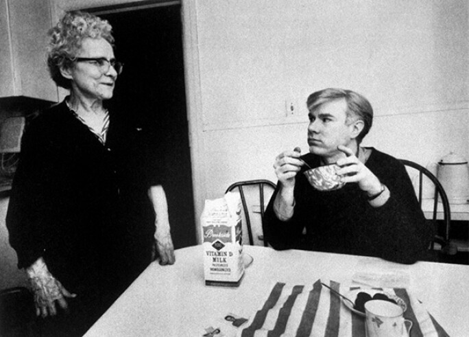 Andy Warhol and His Family | Contemporary Art | Sotheby's
