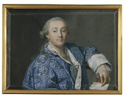 301. russian school, circa 1765 | portrait of count grigorii grigorievich orlov (1734-1783)