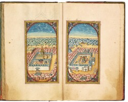 22. an illuminated collection of prayers, including dala'il al-khayrat,signed by mehmed saif al-din, turkey, ottoman, dated 1189 ah/1775-76 ad |