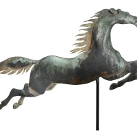 1244. flying horseamerican school, 19th century | flying horseamerican school, 19th century