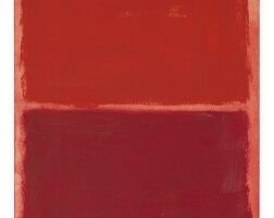 16. 馬克・羅斯科 | 《無題(紅色上的紅)》