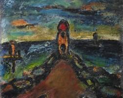 6. georges rouault | nocturne (la sainte famille)
