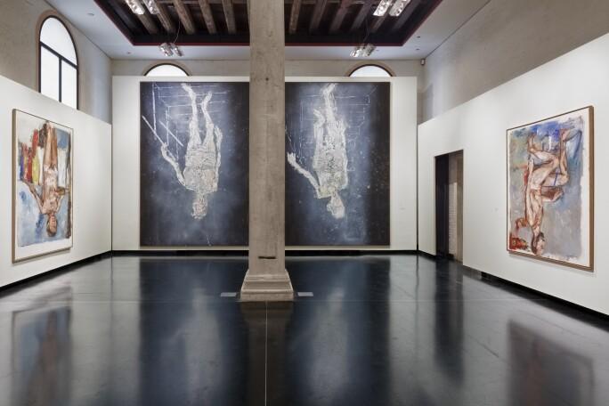 Baselitz-Academy; Gallerie Accademia Venezia