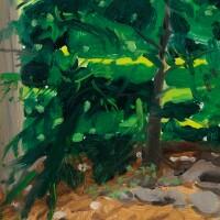 13. alex katz (b. 1927) | 樹