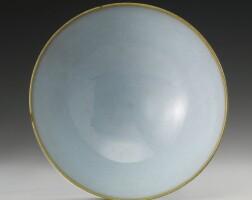25. a large 'jun' bowl song dynasty