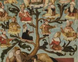 107. dutch school, early 16th century | the tree of jesse