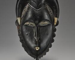 19. yaure mask,côte d'ivoire