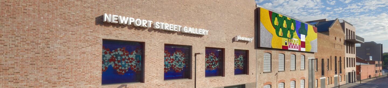 Exterior View, Newport Street Gallery