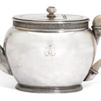 6. a french silver teapot, martin-guillaume biennais, paris, 1798-1809 |