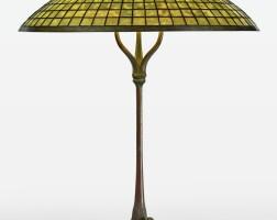 "330. tiffany studios | ""parasol"" table lamp"