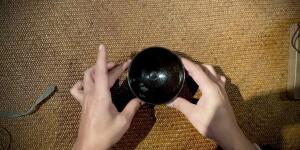 An Exceptional 'Oil Spot' Bowl