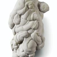 8. gogote formant une sculpture naturelle, probablement fontainebleau, france