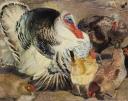 39. armando spadini | turkeys and hens