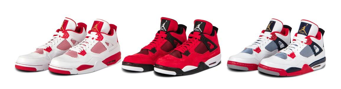 Air Jordans IV aux JO de Londres