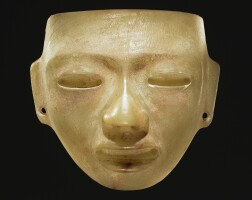 42. teotihuacan stone mask, classic, ca. a.d. 450-650