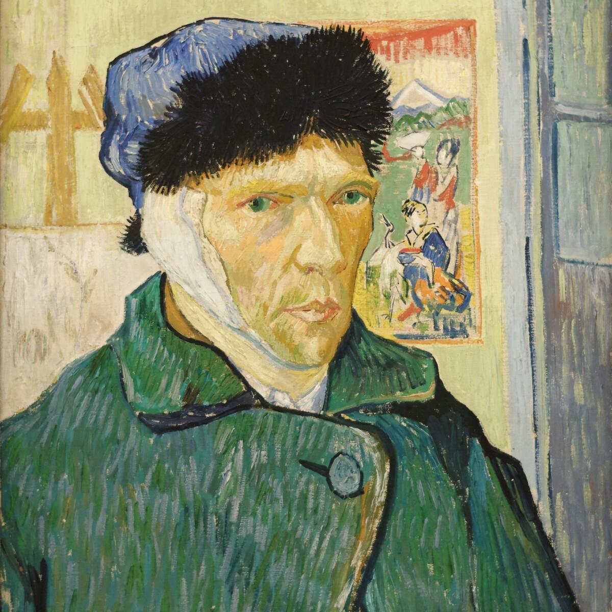 Self-Portrait 1889 Poster Canvas Print 8 Vincent Van Gogh
