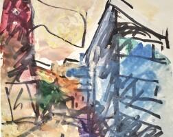 112. Frank Auerbach