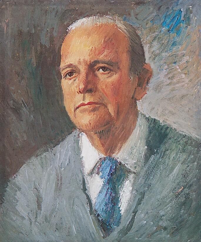 Ludwig Neuhauser, Portrait of F.C. Butôt