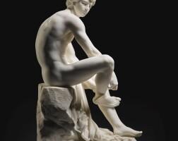 10. jean-andré delorme | mercure attachant ses talonnières (mercury tying his sandals)