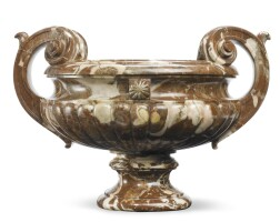 10. a large louis xv breccia marble urn 18th century