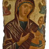 561. hodegetria mother of god, veneto-cretan, 16th century |