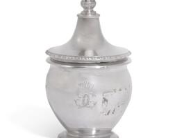 8. an italian silver mustard pot, luigi vernazzi, parma, circa1820 |