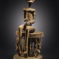 13. dogon-tintam seated male figure