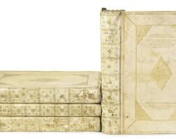 46. blaeu, willem and joan. le theatre du monde. 4 volumes, 1643-1645