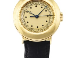 60. 百達翡麗(patek philippe)   531型號獨特黃金腕錶,richard bordenach設計,1937年製。