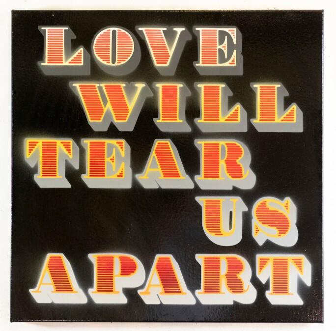 Ben Eine Love Will Tear Us Apart