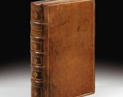 128. descartes. discours de la méthode. leyde, 1637. in-4. veau fauve de l'époque. edition originale.