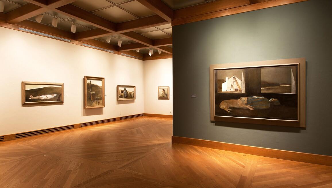 Interior View, Brandywine River Museum of Art