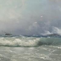 5. ivan konstantinovich aivazovsky