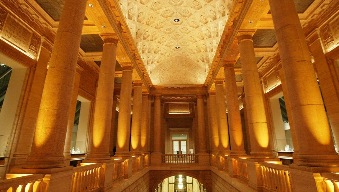 Interior View, Asian Art Museum