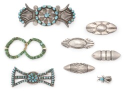 5. group of southwestern jewelry